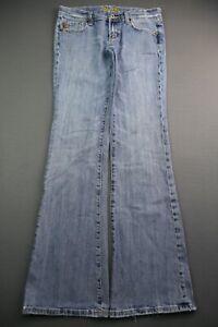 Women's Miss Me Jeans Boot Cut Carmen Milwaukee Distressed Size 28 (28x32)