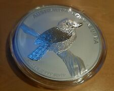 ++ 1 KG Silber Münze 2010 Australian Kookaburra 999 Silber Kapsel ungeöffnet ++