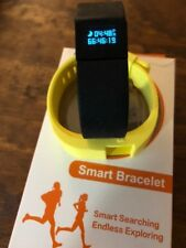 Used excellent Smart Bracelet Fitness Tracker with 2 wrist bands