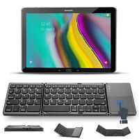 Bluetooth Tastatur Samsung Galaxy Tab A SM-T585 Tablet keyboard Touchpad FKT