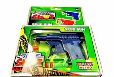 Sure Shot Mini Metal Die Cast Spud Gun For Childrens Outdoor Play Game