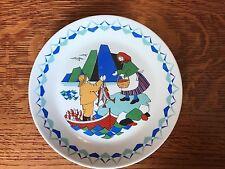 Figgjo TORSKEFISKE Large Plate Norway Fishermen Handpainted Gerd Design