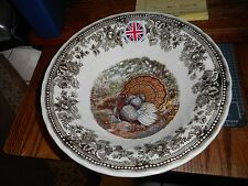 QUEEN'S Quintessential Game Thanksgiving Turkey Serving Bowl Made in England