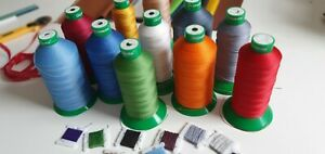 Kit Upholstery Thread * Needle - -  Hand ^ Machine Sewing Kit Upholstery & Craft