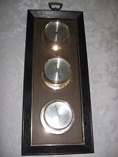 Vintage  SPRINGFIELD INSTRUMENT CO Thermometer, Barometer, & Humidity Meter