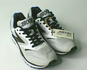 Brooks Heritage Mojo Running Shoes Size 10D Black Lunar Rock Heather Excellent