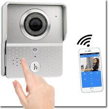 VIDEOCITOFONO WIFI WIRELESS CON TELECAMERA HD CHIAMATA REMOTA SMARTPHONE TABLET