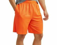 Athletic Works Men's Dazzle Starter Shorts w Pockets Wild Paprika, S(28-30) #260