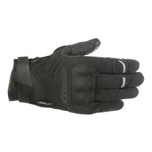 Alpinestars C-30 Drystar Motorcycle Waterproof Textile Short Gloves - Black