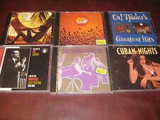 CAL TJADER COLLECTION OF DCC AUDIOPHILE CDS LIGHTHOUSE SOLAR HEAT + BONUS CDS
