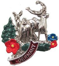 German Hat Pin: German Stags