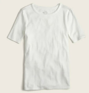 J.Crew White Perfect Fit T-shirt Size Large