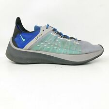 Nike Mens EXP X14  A01554-005 Menta Blue Grey Running Shoes Lace Up Size 9.5