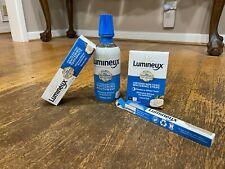 Lumineux Teeth Whitening Kit 14 Strips Mouthwash Toothpaste Toothbrush