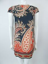 Isabel Marant Etoile Cotton Retro Paisley Dress Size 36 UK 8