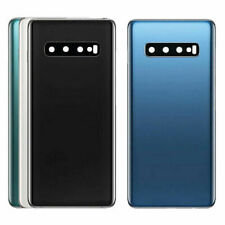 Samsung S10 S10+ Plus Back Glass Battery Cover Housing Replacement + Camera Lens