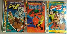 SCOOBY-DOO & DYNOMUTT lot of (3) issues, as shown (1978) Marvel Comics VG