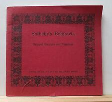 Sotheby's Belgravia Oriental Ceramics & Furniture Catalog 7/4/74 Chinese 40 pgs