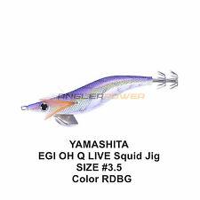 1X YAMASHITA EGI OH Q LIVE Squid Jig #3.5 Color RDBG