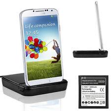 Cargador Dock Cuna + Bateria Para Samsung Galaxy S4 I9500 I9505 Carga Usb Doble