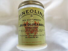 Antique Drug Store Pharmacy Pharmaceutical Skin Cream Pineoline Ointment