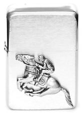 Horse Racing Equestrian Gift Lighter Petrol Lighter FREE ENGRAVING Gift Boxed