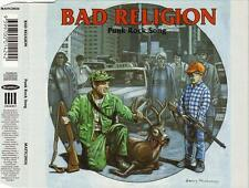 BAD RELIGION - Punk Rock Song (CD 1996) RARE Australia 4-Track Single