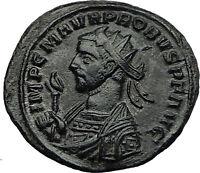 PROBUS on HORSEBACK 279AD Original Authentic Genuine  Ancient Roman Coin i59183