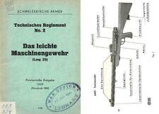 LMG 25 1939 Das Leichte Maschinengewehr (Swiss Army)
