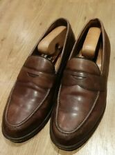 Cheaney 'Hudson' Brown Leather Loafers UK 8.5F