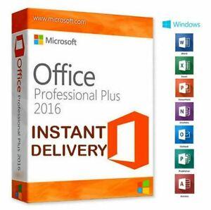 🔥 MS™Office2016 PROFESSIONAL PLUS Microsoft™Office ✅