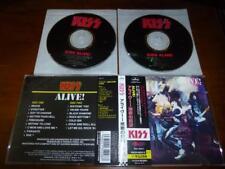 Kiss / Alive JAPAN 2CD PHCR-10021/2 C10