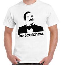 T-Shirt divertente idea regalo TRE SCOTCHESS - CALBONI - FANTOZZI