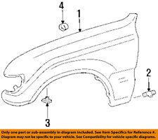 TOYOTA OEM 95-97 Land Cruiser-Front Fender Quarter Panel Right 5380160223