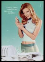cartolina pubblicitaria PROMOCARD n.4088 DIXAN PIATTI SENSITIVE GEL