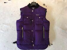 100% original DSQUARED² Daunenweste D2 Weste purple Gr 50 echte Daunen NEU