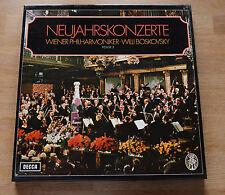 STRAUSS concerts de nouvel an neuf années Vol. 2 BOSKOVSKY 3LP box DECCA