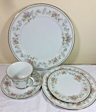"Noritake ""Memory "" pattern 5 Piece Place Setting"