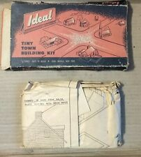 Ho Ideal Tiny Town #B20 Frame House In Paper Wrapper Original Box