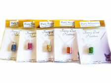 Fairy glitter dust necklaces (sold as 6 individual bottles) great value