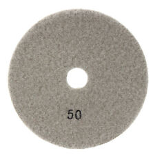 5 Inch Diamond Polishing Pads Wet Dry Sanding Disc Marble Concrete Granite AU 50 Grit