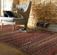 Capel Rugs Harborview Cross Sewn Wool Blend Cinnabar Country Braided Rug