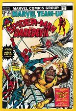1974 Marvel Team-up #25  [ VF+ ]  Spider-Man & Daredevil / Cat-Man / CGC it