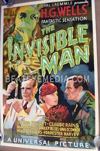 Invisible man-LON CHANEY-UNIVERSAL HORROR,famous monster,KARLOFF-lugosi-monster