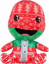 "Sony Little Big Planet Stubbins - Holiday Sackboy Plush 6"" Red/Green/White/Black"