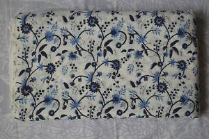 5 Yard Indian Handmade printed Sanganeri Fabric print_706 Cotton Dress fabric**