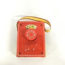 Vintage Fisher Price Music Box Pocket Radio #454