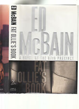 ED MCBAIN-FAT OLLIE'S BOOK-LIKE NEW SIGNED 1ST ED HB/DJ LATER GEM BY THE MASTER