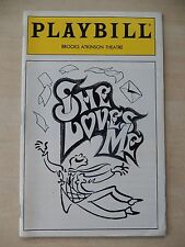 June 1994 - Brooks Atkinson Playbill - She Loves Me - Boyd Gaines - Sally Mayes