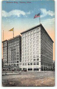 Reibold Building, Dayton, Ohio - c1910 Postcard